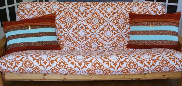 make diy futon cover